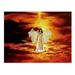 Angels in the Sky Postcard