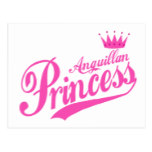 Anguillan Princess Postcard