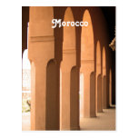 Archways in Morocco Postcard