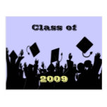 Class of 2009 Postcard You Choose BkGrd/Year/color