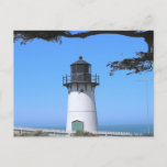 Coastal Lighthouse  Postcard