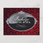 Damask Salon and Spa Postcard
