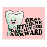 Dentist and Dental Hygienist Gifts Postcard