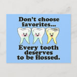 Funny Dental Humor Postcard