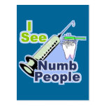 Funny Dentists and Hygienists Postcard