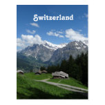 Glorious Switzerland Postcard