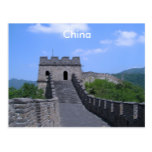 Great Wall in China Postcard