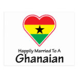 Happily Married Ghanaian Postcard