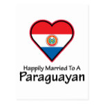Happily Married Paraguayan Postcard