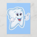 Healthy Happy Teeth Postcard