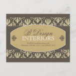 Interior Designer Advertising Postcard