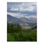 Lake District in England Postcard