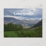 Lakes District in England Postcard