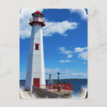 Lighthouse Art Postcard