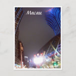 macau casino buildings postcard