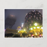 macau casino nights postcard