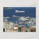 Monaco Harbor Postcard