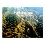 New Zealand Mountains Postcard