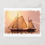 Old Sailing Ships Postcard