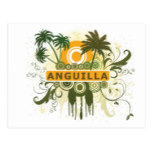 Palm Tree Anguilla Postcard