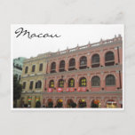 senado square colors postcard