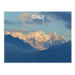 Snow Capped Dolomites Postcard