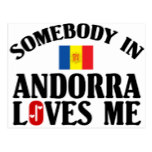 Somebody In Andorra Postcard