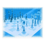 Strategic Chess Play Postcard