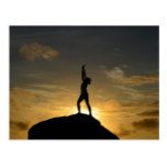 Sunrise Yoga Postcard
