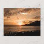 Taiwan Sunset Postcard