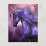 Unicorn  Postcard